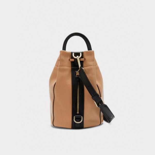 5f0809c64f08 Женский кожаный рюкзак DKNY