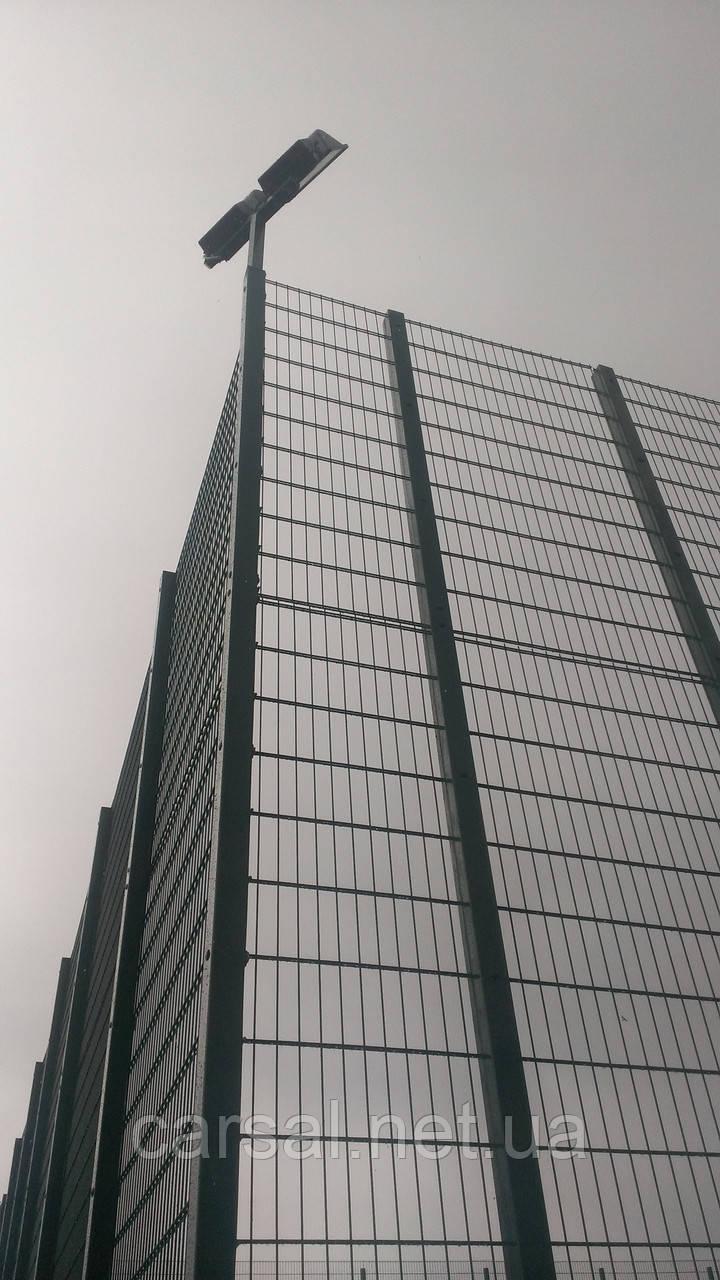 Забор из сварной сетки  Дуос 5*4*5 2,5*2.03
