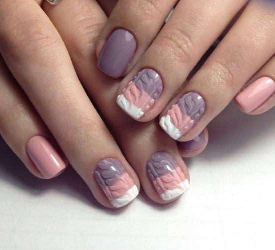 Определяем характер человека по его рисунку на ногтях