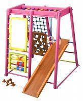 Детский развивающий спортивно-игровой  комплекс - «Кроха - 3 Барби» SportBaby