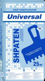 Клей до пінопласту і мінеральної вати Шпатен Универсал Shpaten Universal