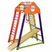 Детский развивающий спортивно-игровой комплекс - «BambinoWood Color» SportBaby