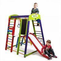 Детский развивающий спортивно-игровой комплекс - «Акварелька Plus 3» SportBaby