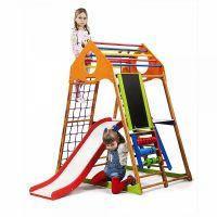 Детский развивающий спортивно-игровой комплекс - «KindWood Plus 3» SportBaby