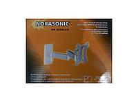 Поворотный настенный кронштейн NK 5039 LCD для ЖК\LED\LCD телевизоров и мониторов диагональю 12″-22″