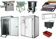 Комплект оборудование для производства замороженных котлет и тефтелей 1300 кг/смену и 2600 кг/смену