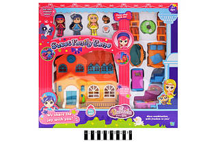 Дом игрушечный для куклы 60220АВ , муз. свет. еффекты, коробка р.47,5*44*10,5 см