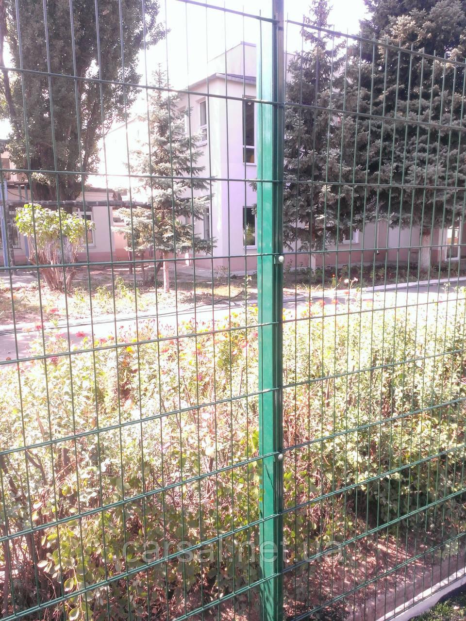 Забор из сварной сетки  Дуос 6*5*6 2,5*1.83