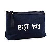 Косметичка Best Day Синяя 17 х 13 х 3 см