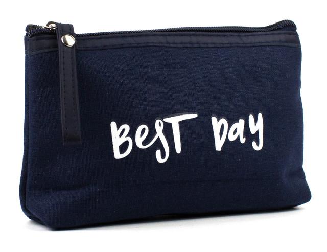 Косметичка Best Day Синяя