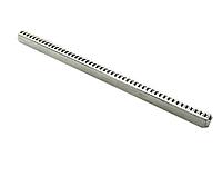 Квадрат для дверных ручек 160 мм. рифленый
