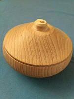 Солонка и перечница деревянные, точенные, деревянная посуда, фото 1