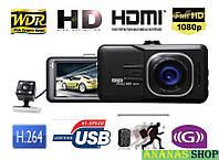 Видеорегистратор DVR 636 Full HD с камерой заднего вида