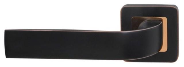 Ручки на розетке RDA Sens золото/матовый черный