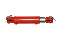 Гидроцилиндр сеялки с гайкой ГЦ 80х40х200.001 22 Профмаш
