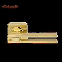 Ручки раздельные Armadillo Bristol SQ006-21 SG/GP-4 матовое золото