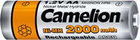 Аккумулятор АА Camelion 2000mAh (1 шт.)