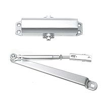 Доводчик дверной Armadillo LY3 aluminum (алюминий) Китай
