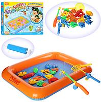 Детская игра, рыбалка на магнитах. Игрушка рыбалка.