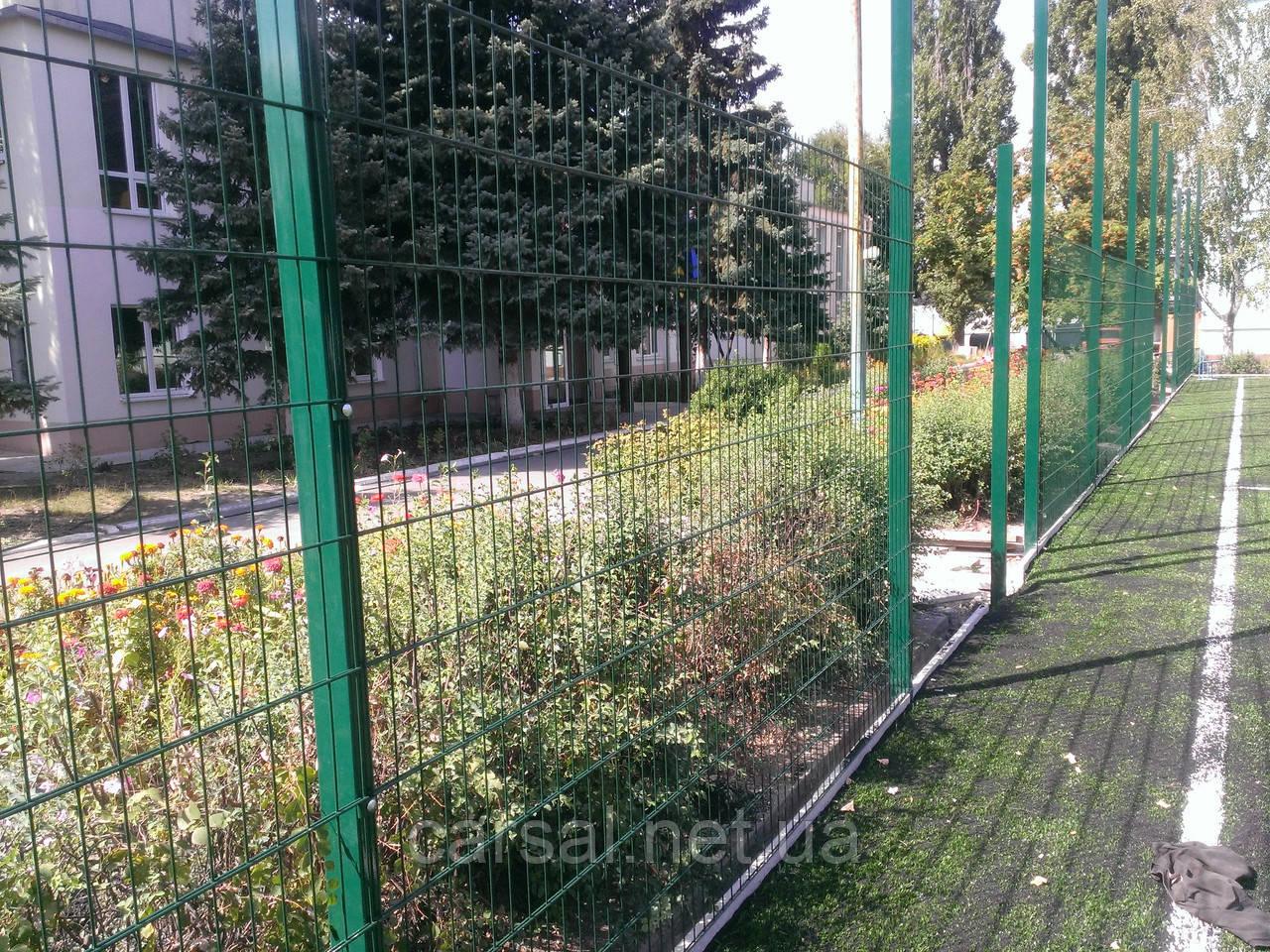 Забор из сварной сетки  Дуос 6*5*6 3*2.43