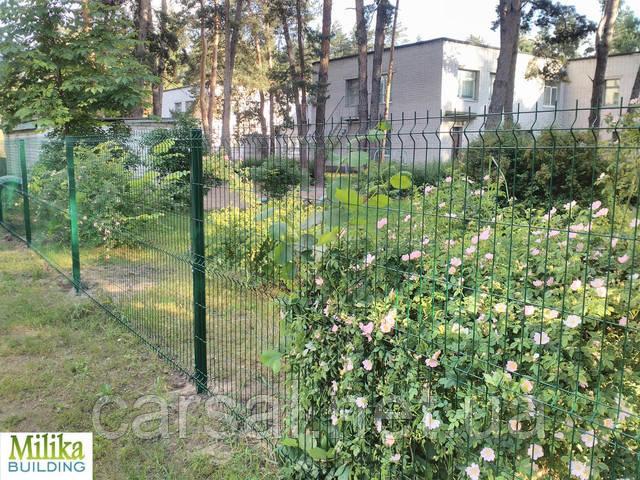 Забор из сварной сетки  Оригинал 4*4 2,5*1.00