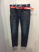 Подростковые джинсовые брюки на девочку