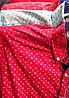 Рубашка мужская мелкий принт локотки карман трансформер (деми), фото 3