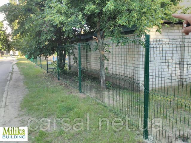Забор из сварной сетки  Оригинал 4*4 2,5*1.8
