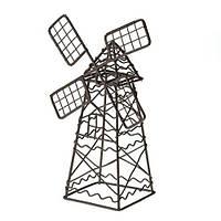 Металлическая мельница коричневая мини 5*9*14см, 27050