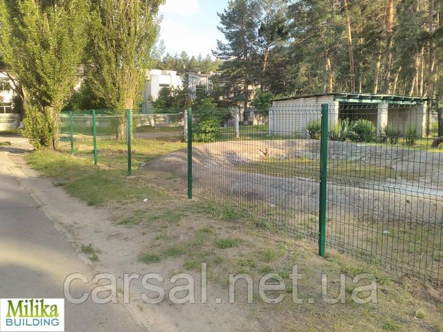 Забор из сварной сетки  Оригинал 4*4 2,5*2.2