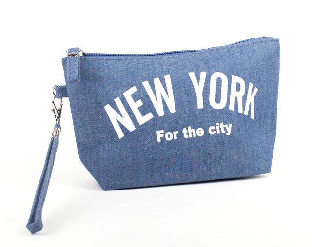 Косметичка New York Джинс