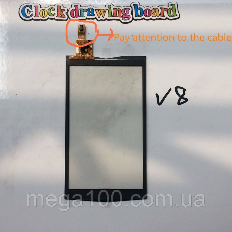 Сенсорный экран, тачскрин для смартфона discovery v8 копия