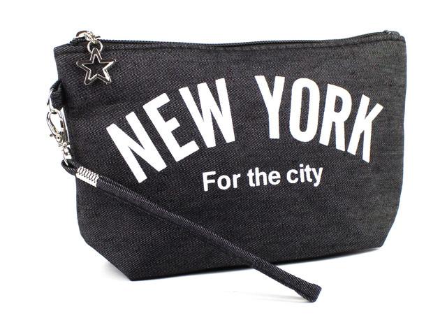 Косметичка New York Чёрная
