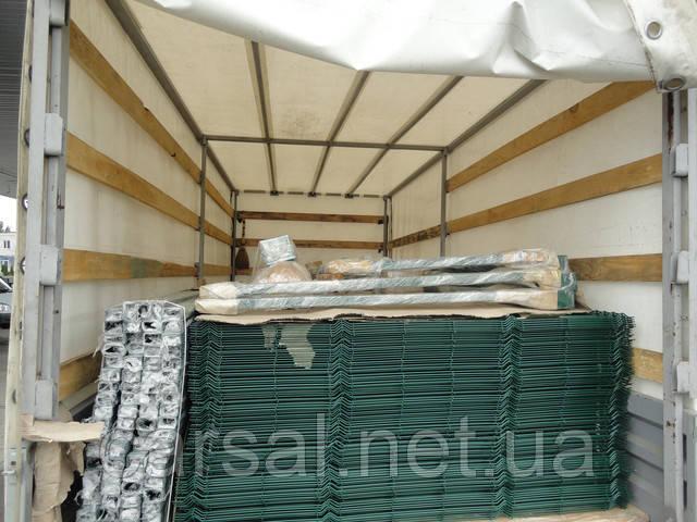 Забор из сварной сетки  Оригинал 5*5 2,5*1.00