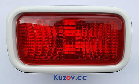 Фонарь задний Mitsubishi Lancer 9 04-09 левый (Depo) в бампер, активный с окуляром MN161677, фото 2