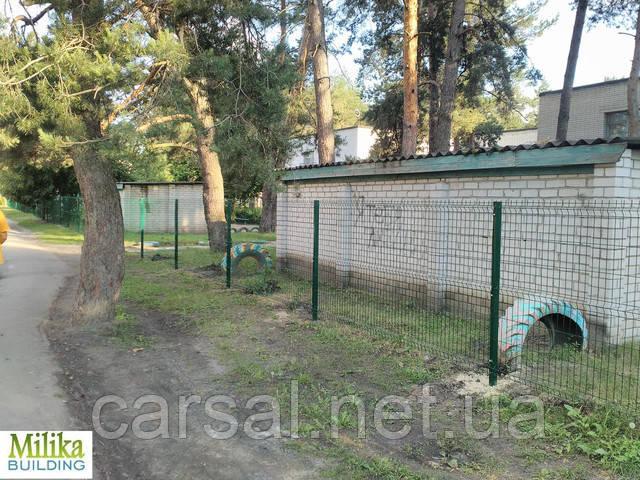 Забор из сварной сетки  Оригинал 5*5 2,5*1.8