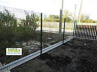 Забор из сварной сетки  Оригинал 5*5 2,5*2.0, фото 1