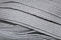 Тесьма акрил 20мм (50м) св.серый , фото 1