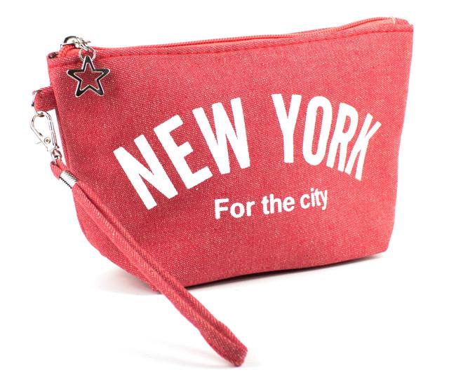 Косметичка New York Красная