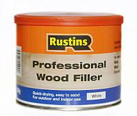 Двухкомпонентная шпатлевка для дерева Professional Wood Filler Белый