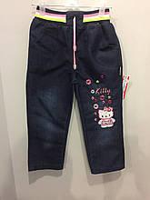 Детские джинсовые брюки для девочки 92,104,116 см