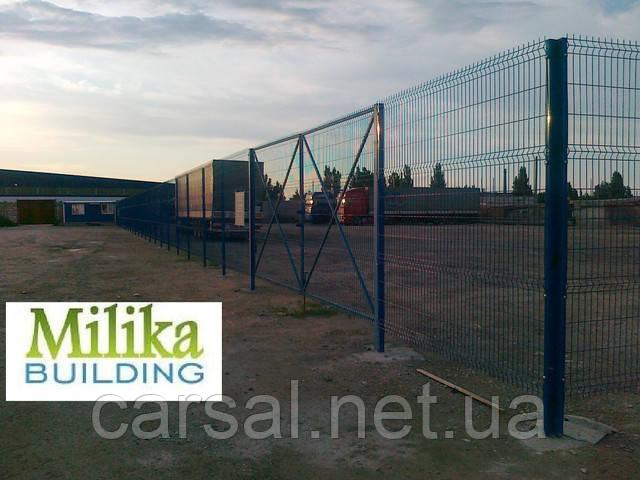 Забор из сварной сетки  Оригинал 3,8 2.5*0,62