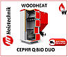 Котел пеллетный  Heiztechnik Q BIO DUO 65 (Польша)