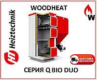 Котел пеллетный  Heiztechnik Q BIO DUO 75 (Польша)