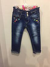 Красивые детские джинсы на девочку 116,122,128 см