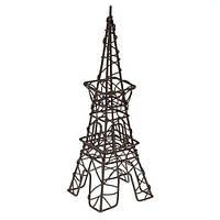 Металлическая мини Эйфелева башня коричневая 7.5*4.5*8см 27051
