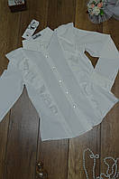 Женская блуза с рюшами, фото 1