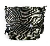 Женская стильная черная сумка