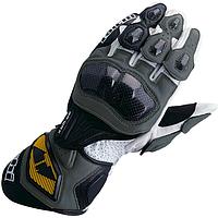 Мотоперчатки RS TAICHI GP-WRX кожа черный серый S