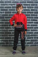Спортивный костюм детский красный